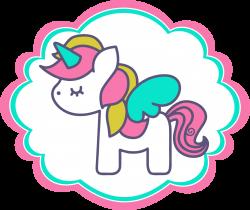 Clipart de Unicornios para Scrapbook. | 3Dany | Pinterest | Babyshower