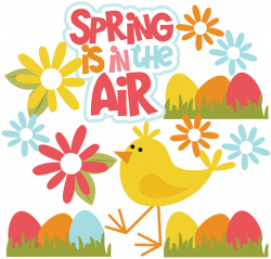 Spring Is In The Air - SVG files for Scrapbooking | Cuttable ...