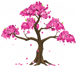 Pink Tree PNG Clipart Image | Graphics | Pinterest | Pink trees ...