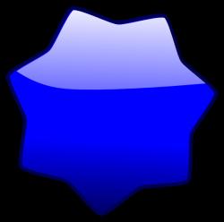 Blue Star Clip Art at Clker.com - vector clip art online, royalty ...
