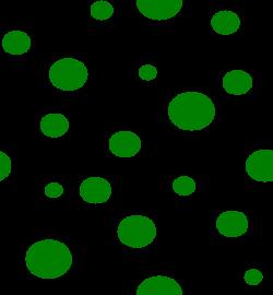 Green Polka Dots Clip Art at Clker.com - vector clip art online ...