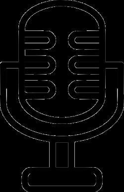Loud Mic Microphone Audio Announcement Radio Studio Svg Png Icon ...