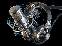 Microphone and headphones | My Friend Mic | Pinterest | Audio