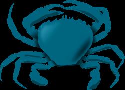 Clipart - Blue Crab