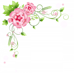 Corner Floral Decoration PNG Clipart Picture | Gallery Yopriceville ...