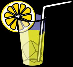 Clipart - Lemonade glass