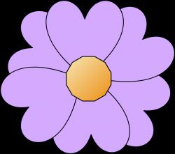 Clipart - simple-purple-flower