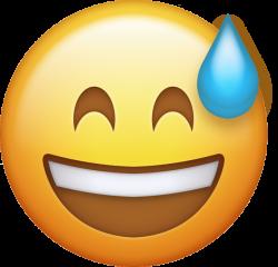 Sweating Emoji Cliparts Free Download Clip Art - carwad.net