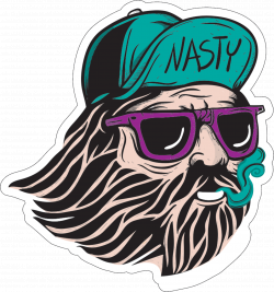 Oldman Nastyworldwide Sticker by NASTY JUICE for iOS & Android | GIPHY