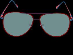 Color Frame Sunglasses Clipart - 3522 - TransparentPNG