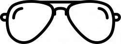 Pilot Sunglasses Svg Png Icon Free Download (#59677 ...