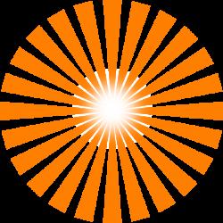 Sun Ray Clip Art at Clker.com - vector clip art online, royalty free ...