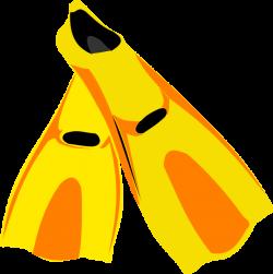 Snorkel Fins Clip Art at Clker.com - vector clip art online, royalty ...