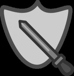 Sword And Shield Clip Art at Clker.com - vector clip art online ...