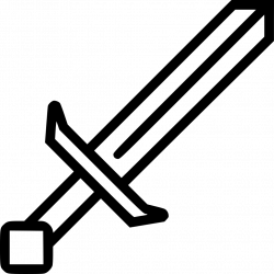 Minecraft Sword Svg Png Icon Free Download (#442939 ...