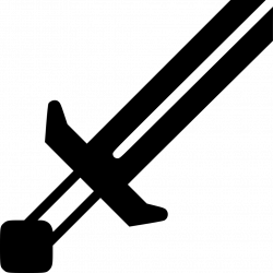 Minecraft Sword Svg Png Icon Free Download (#442999 ...