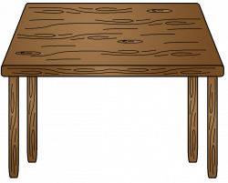 Table Clipart | Clipart Panda - Free Clipart Images