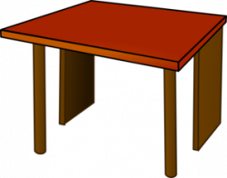 Table Clipart Black And White | Clipart Panda - Free Clipart Images