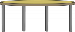 Table Clip Art - Table Image