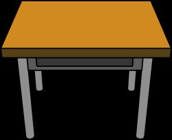 Student Table Clipart. Student Desk Clip Art Table Clipart E - Illrts.co
