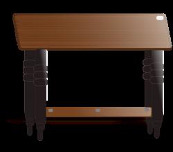 Clipart - Teak Top Table