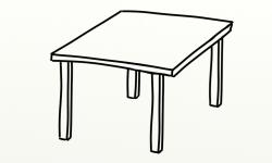 kitchen : Fancy Round Kitchen Table Clip Art Rustic Round ...