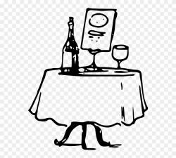 Zonden - Fancy Dinner Table Clipart - Png Download (#825990 ...