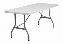 Folding Table Png Clipart - Folding Catering Table - white ...