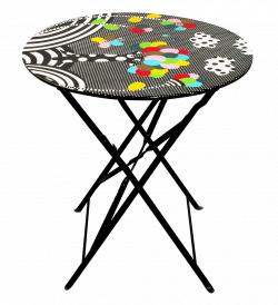 Folding table - Garden Paradise - Pylones