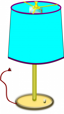 Clipart - Table Lamp