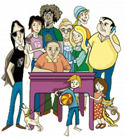 Collection of 14 free Distraining clipart table talk. Download on ...