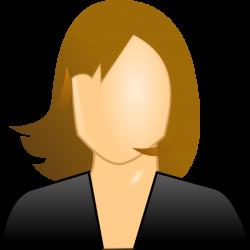 Female User Icon Clip Art at Clker.com - vector clip art online ...