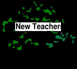 New Teacher Tree Clip Art at Clker.com - vector clip art online ...