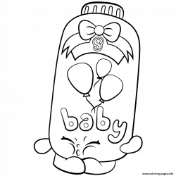 Print Powder Baby Puff shopkins season 2 coloring pages   Sew_You ...