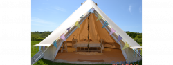 Bell Tent Hire Dorset - Camelot Glamping
