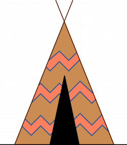 28+ Collection of Teepee Clipart Svg | High quality, free cliparts ...