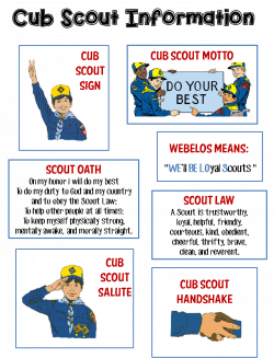 Strong Armor: Cub Scouts - Scout Oath and Law Helps and Printables ...