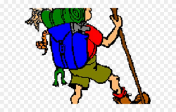 Camp Clipart Scouting Activity - Hiking - Png Download ...