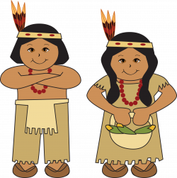 28+ Collection of Thanksgiving Native American Clipart | High ...