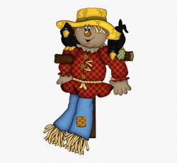 Clipart Thanksgiving Glitter - Cute Scarecrow Clip Art ...