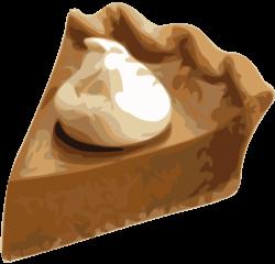 Clipart - Pumpkin Pie Slice