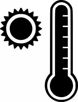 Thermometer Hot Heat Overheat Temperature Svg Png Icon Free Download ...