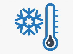 Winter, Snowflake And Thermometer, Clip Art Printable - Cold ...