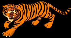 Public Domain Tiger Clipart
