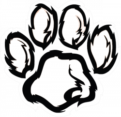 Paw Print Drawing at GetDrawings.com | Free for personal use Paw ...