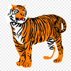 Tiger Clipart Black And White Panda Free Image Clipart ...