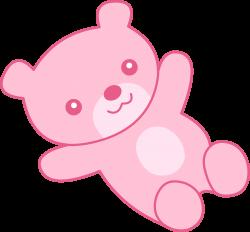Cute Pink Teddy Bear Clipart - Free Clip Art