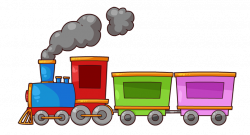 Train Clip Art & Images - Free for Commercial Use | Baby shower ...