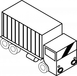 Truck Clipart Black And White   Clipart Panda - Free Clipart Images
