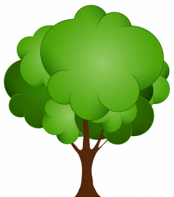 Green Tree PNG Clip Art - Best WEB Clipart